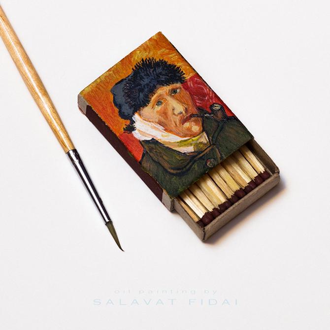 Миниатюрные картины Ван Гога