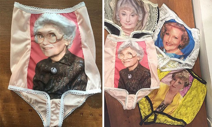 трусы бабушек фото