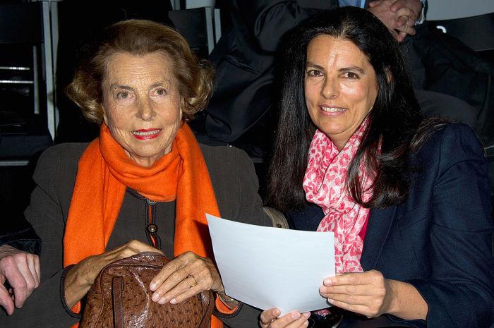 Франсуаза Беттанкур-Майерс с матерью. / Фото: www.cnwimg.com