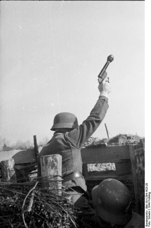 Немецкий пистолет-гранатомёт Kampfpistole