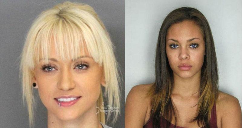 19 преступниц, которым место в модельном агентстве