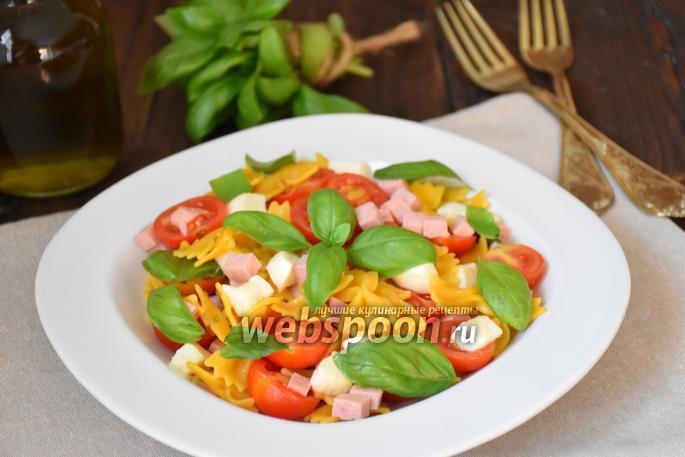Салат с макаронами рецепт с фото пошагово