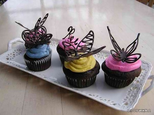 Сделать бабочек своими руками для украшения