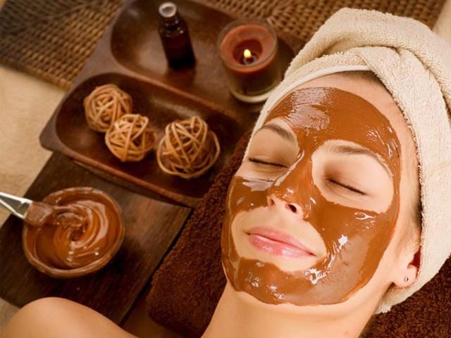 Идеальное решение - использовать шоколадную маску для лица