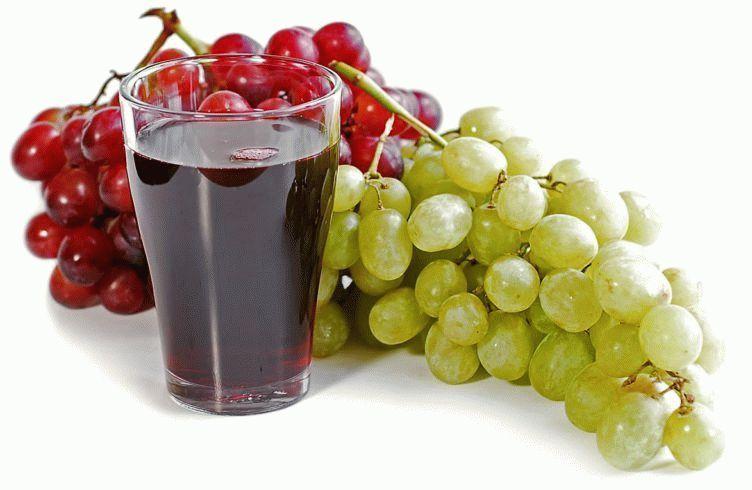 Полезные свойства виноградного сока
