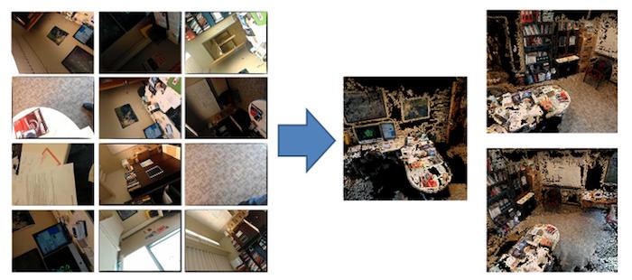Программа PlaceRaider может собирать фрагменты случайных фото в цельные подробные панорамы.