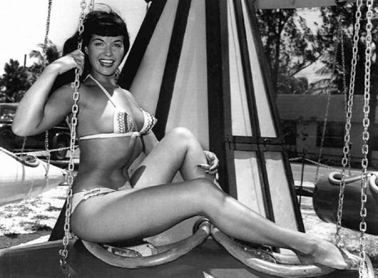 Бетти Пейдж (Betty Page): идеал  пин-ап- красотки
