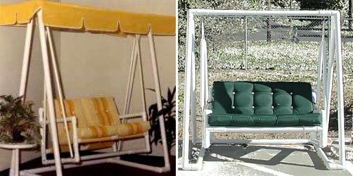 Мебель своими руками из пластиковых труб фото и