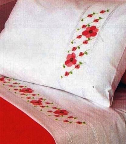 Схемы вышивки крестом — цветы