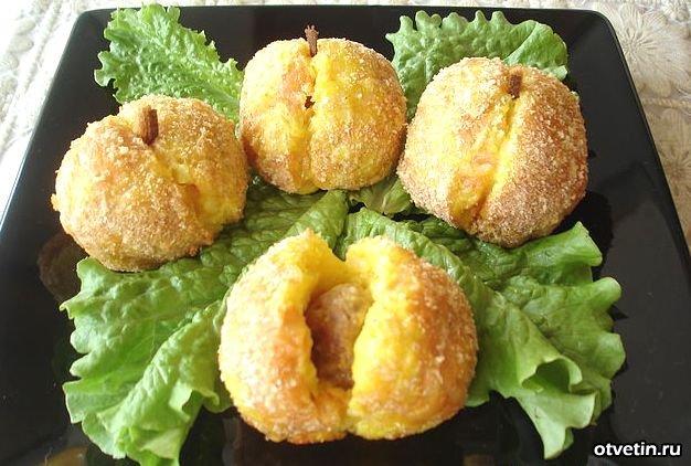 Картофельные «персики» с фаршем — вкуснейшее блюдо!