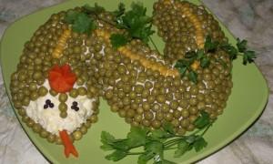 13 Новогодних салатов для года 2013
