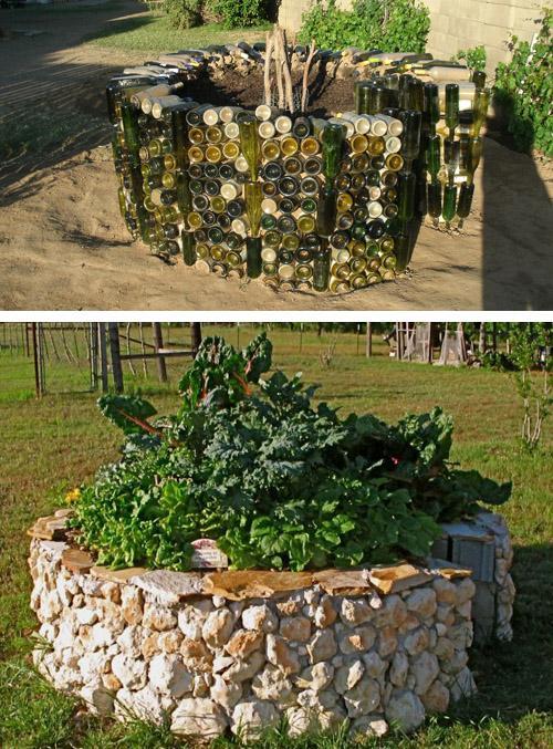 огороды типа замочная скважина