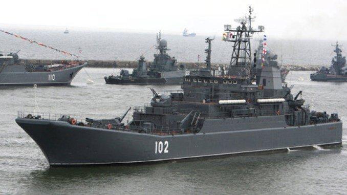 Россия закрыла часть Восточного Средиземноморья