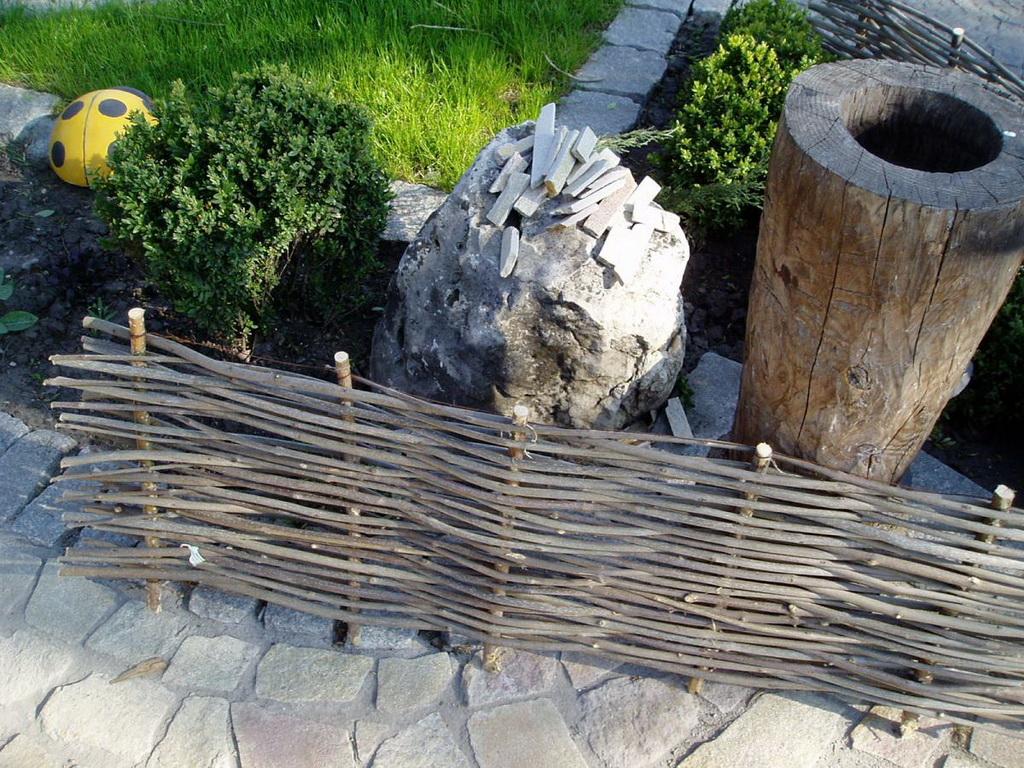 Как сделать украинский плетень