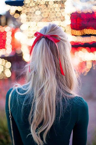 Inspiration: Простые и стильные способы носить ленту в волосах