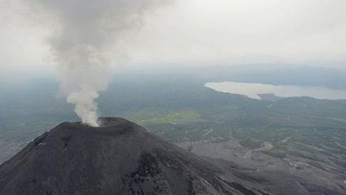Ученые обнаружили подземную связь между двумя вулканами в Японии