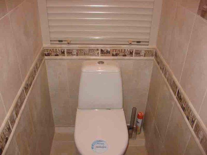 Интерьеры туалетов в квартирах