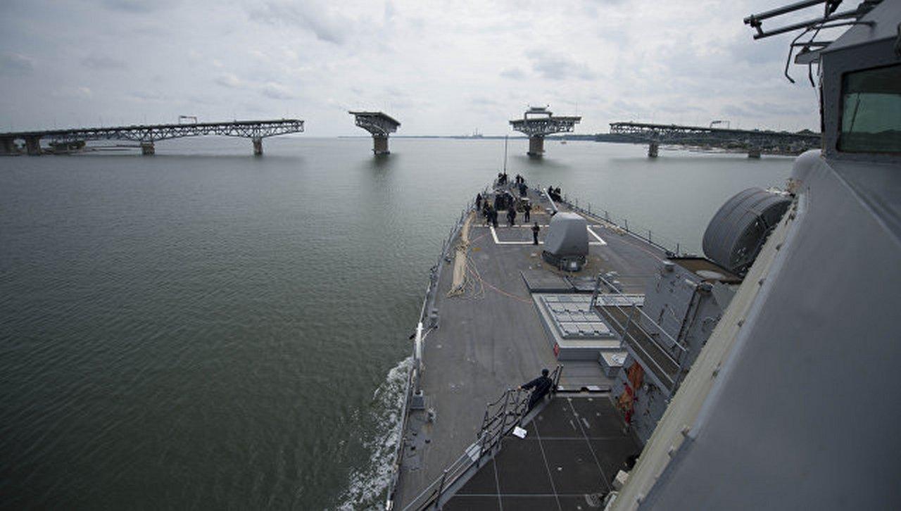 ВМС США в Чёрном море: «друж…