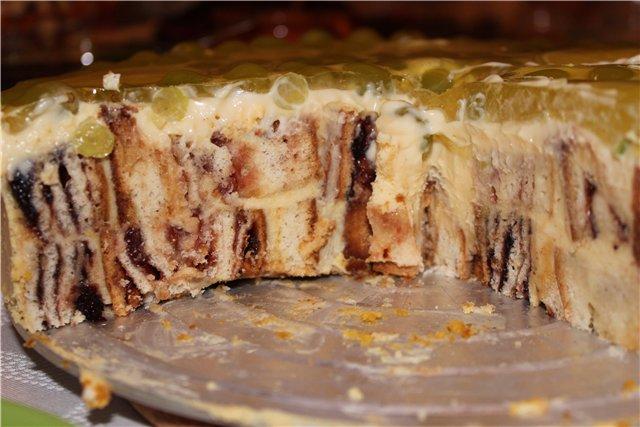 Рецепт пирог с брусникой и яблоками рецепт