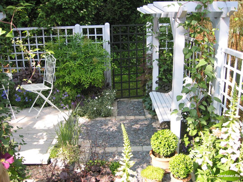 Дизайн садового участка в 4 сотки своими руками