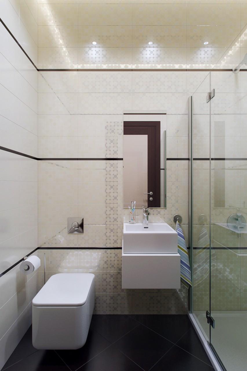 современная сантехника в ванной