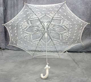 Вязанные зонтики