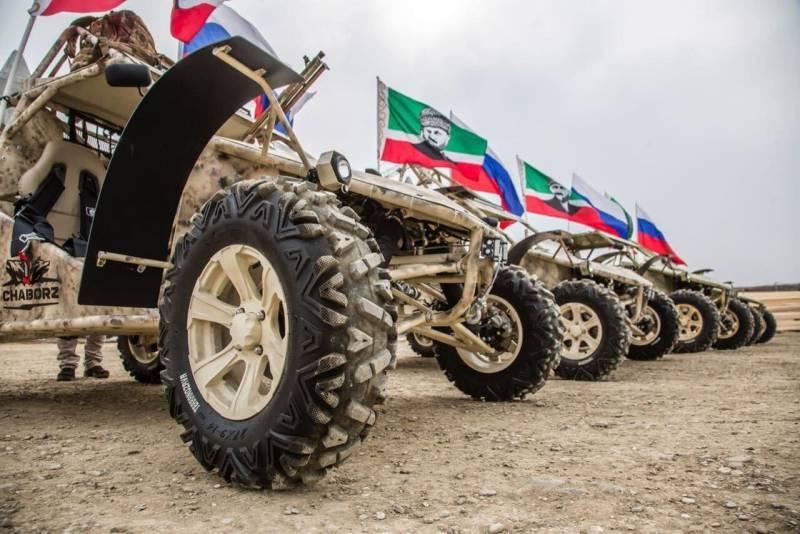 Проект «Чаборз». Багги для спецназа из Чечни