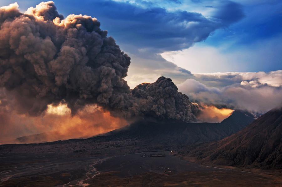 Вулкан Бромо вулкан, фото
