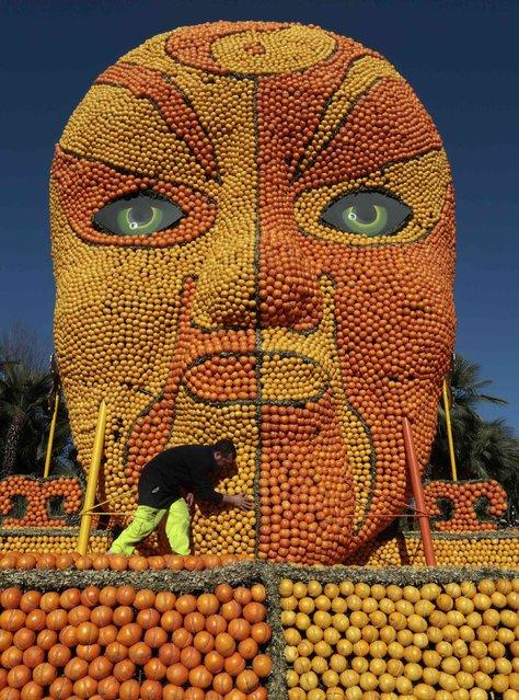 Лимонный фестиваль во Франции