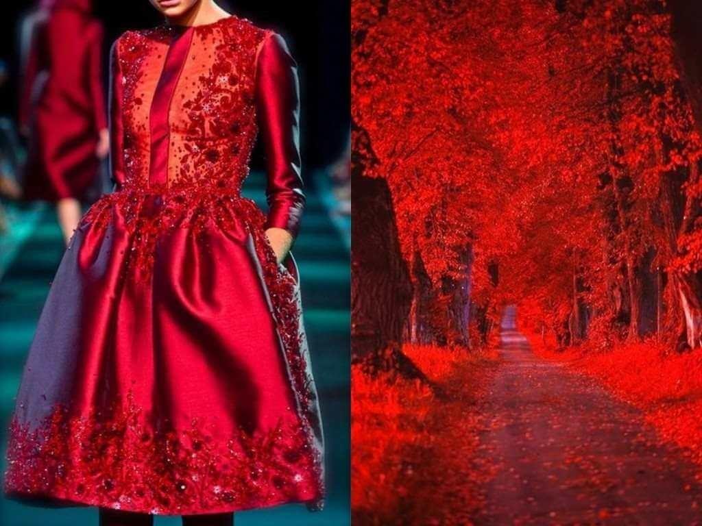 Слияние моды и природы: 68 восхитительных платьев, на создание которых вдохновила сама природа.
