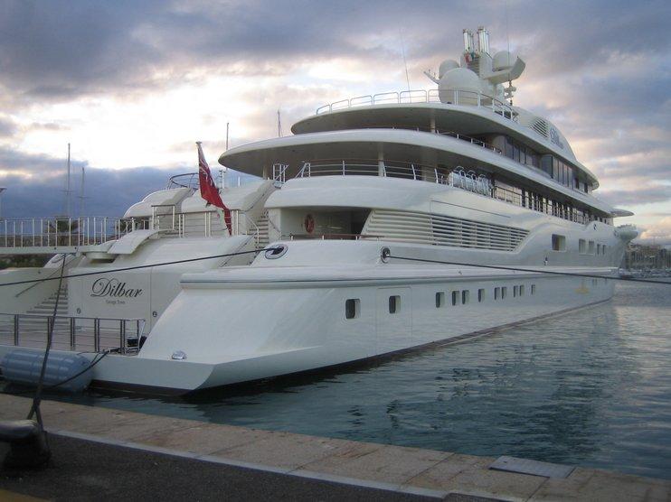 Топ-10 дорогих яхт российских миллиардеров