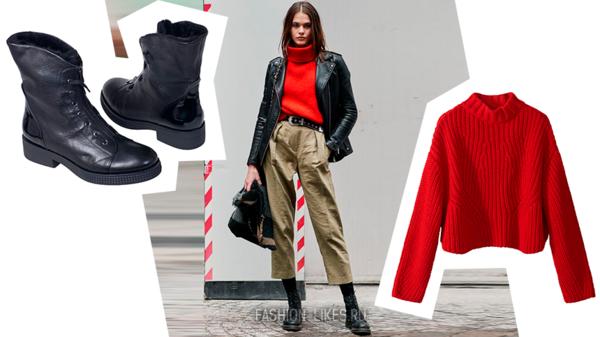 Брутальный грандж: 8 идей, как красиво носить грубые ботинки этой осенью