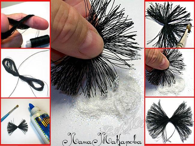 Как сделать мак из атласной ленты своими руками