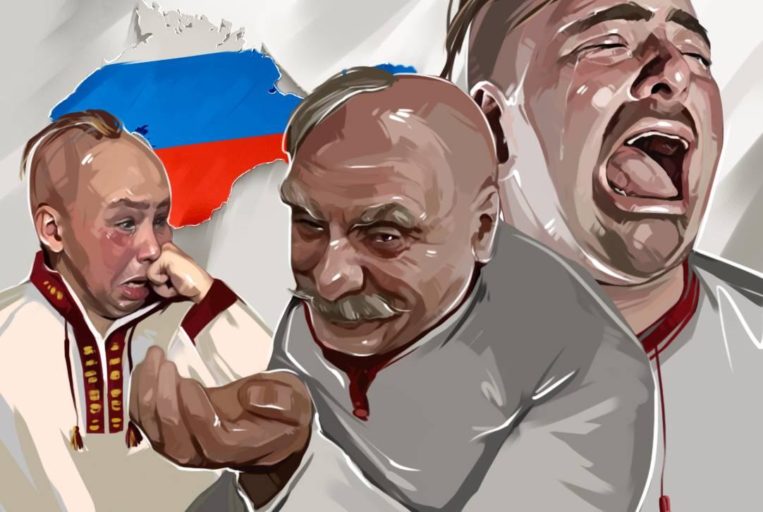 Коварные планы Киева на Крым и скрытая любовь крымчан к Порошенко