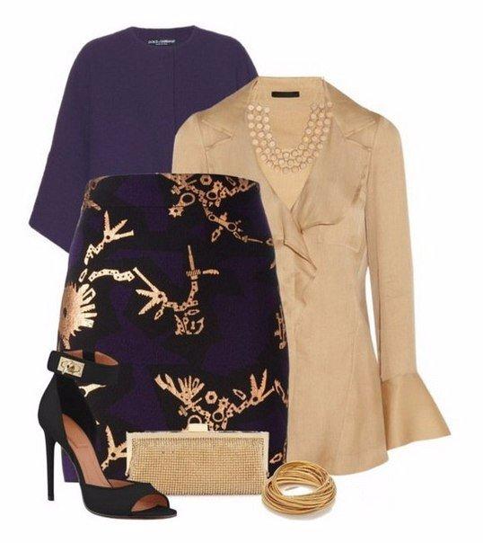 Эффектная юбка с принтом Kenzo - и 6 образов с ней.