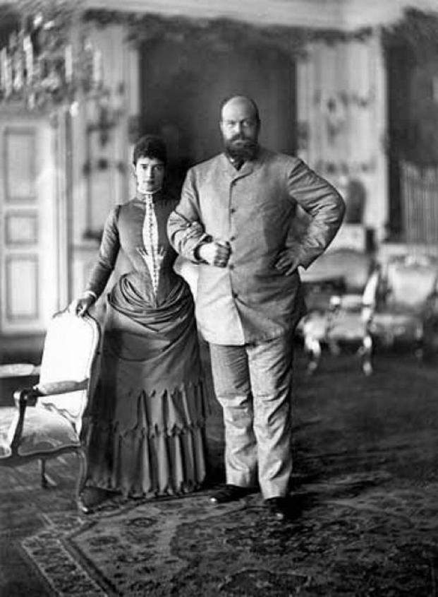 Император Александр III с супругой Марией Федоровной 1892 г история, факты