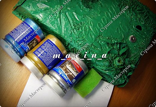 Декор предметов Мастер-класс Ассамбляж Почтовый ящик в технике Терра МК Гипс Краска Материал природный фото 25