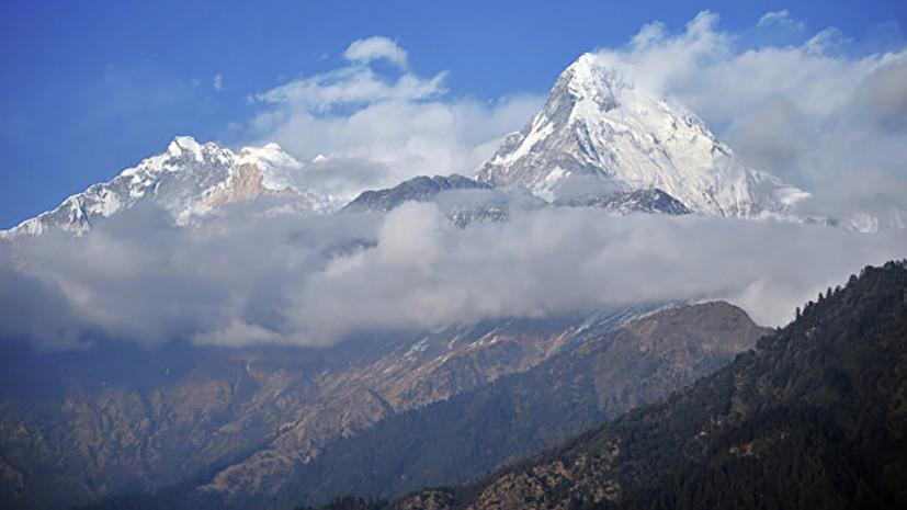 В Непале погибли по меньшей мере восемь альпинистов