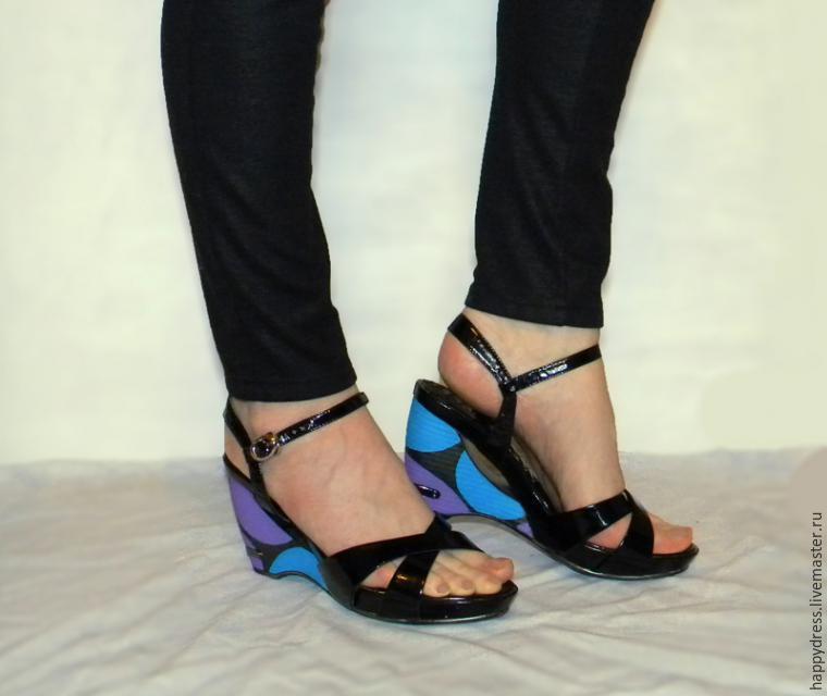Делаем модную обувь из старой, или Что делать, когда Балдинини не по карману