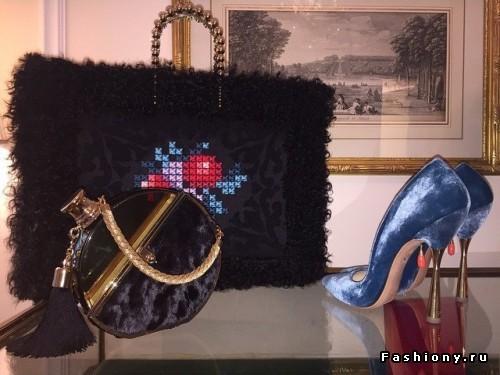 Ulyana Sergeenko Haute Couture Весна-Лето 2015: лукбук коллекции аксессуаров
