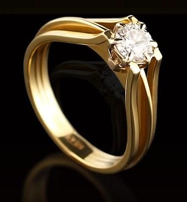 Модные кольца 2017 с бриллиантами