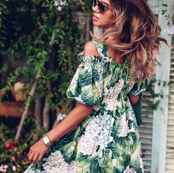 30 идеальных моделей летнего платья 2018