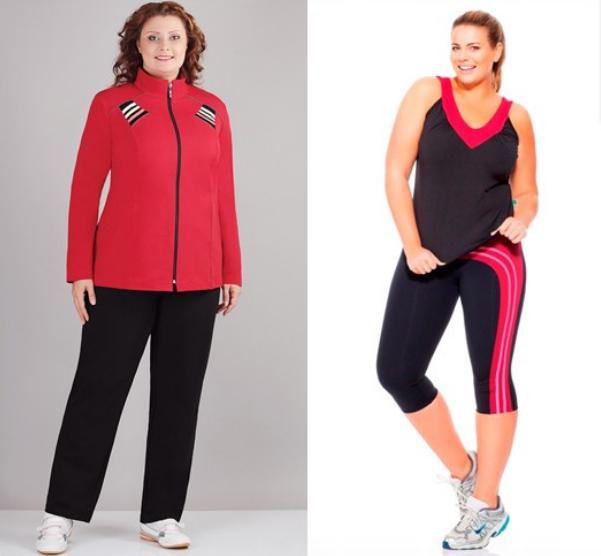 Спортивная Одежда Для Полных Женщин Фото
