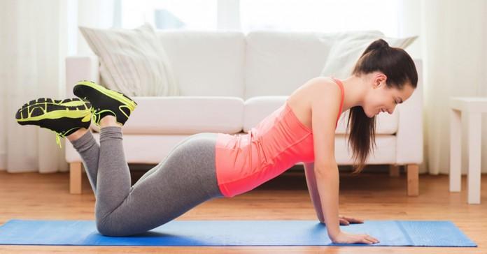 Самая эффективная домашняя тренировка: 5 упражнений