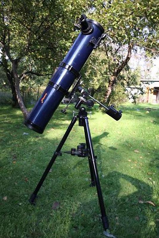 016 Что спрятано внутри телескопа?