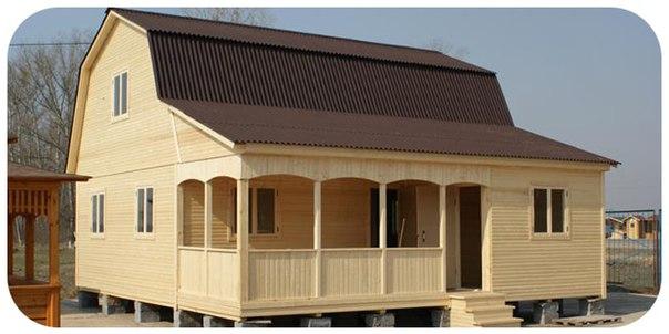 Как построить каркасный дом своими руками 6х8?