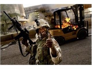 Американские вояки за рубежо…