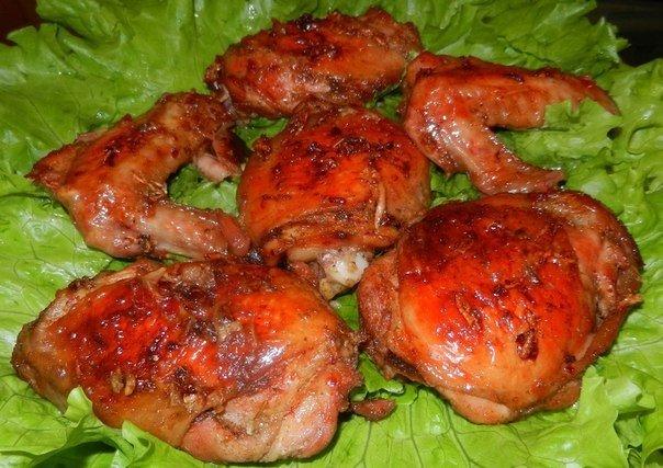 Курица в квасе