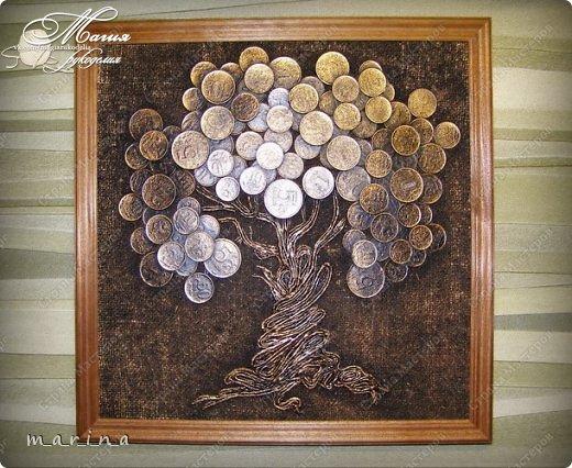 хорошо картина денежное дерево своими руками руками Norveg Шерсть