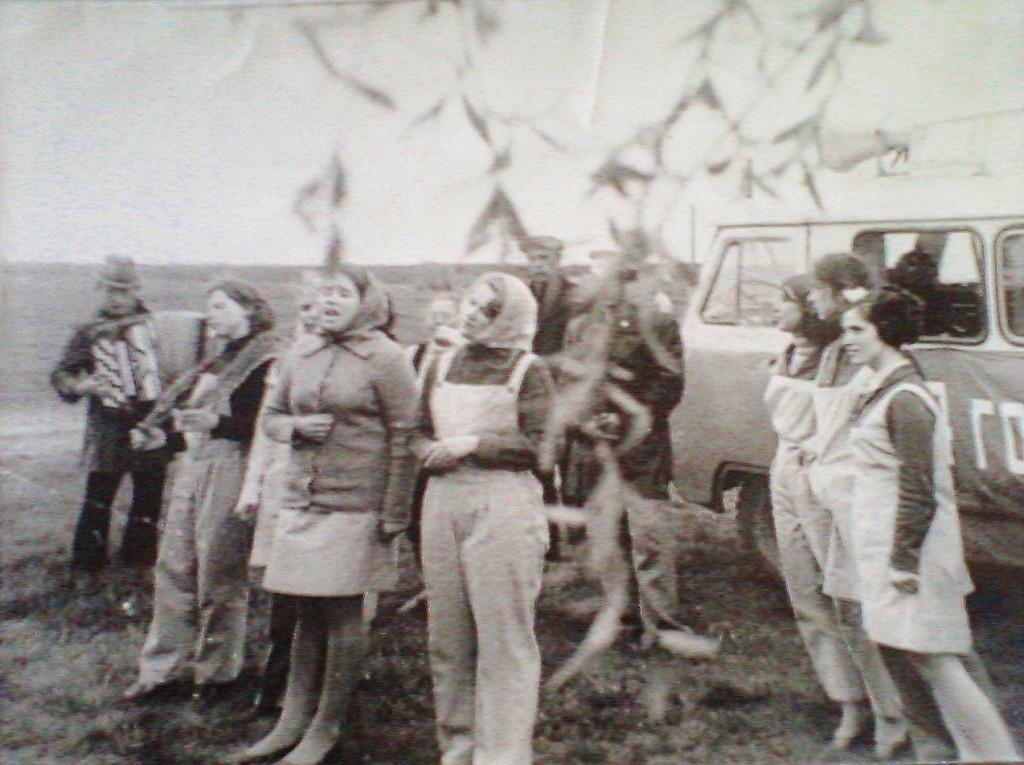 Выступление агитбригады Пучежского РДК 70-е годы.